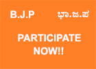 Bharatiya Janata Party Karnataka - Participate Now!