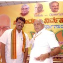 Dr.BSY and Venkatesh Mourya