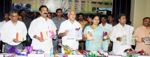BSY released books at Mysore university
