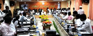 Chief Minister B S Yaddyurappa Chaired Cabinet Meeting @ Gulbarga