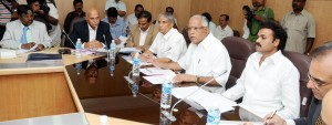 High Level Committee Meeting on H1 N1 Presided by CM