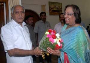 Mrs Nazma Heftulla called on cm