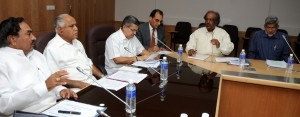 Review Meeting on Power Situation and Renewable Energy Projects at 4.00 PM at Committee Room Vidhana Soudha