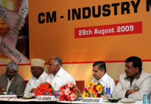 cm With industrialists
