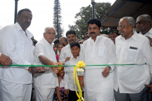 Chief minister B S Yeddiyurappa inagurated the Flower show at Lalbagh on 07.08.2009.Sri R ashok minister for transport and Sri Raghavendra mp were present.