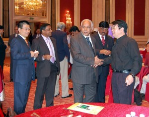 Chief Minister B.S.Yeddyurappa today addressed the investors meet at Shanghai, China