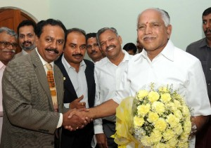 Sri M C Dinesh ,president of kassia and Sri A S Joshi, General secretary of kassia met Chief minister B S Yeddyurappa in Bangalore on 22.09.2009