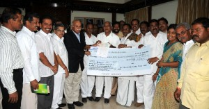 Cheque by APMC's