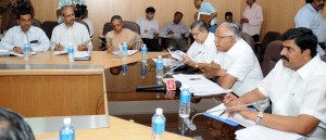 State Disasater Management committee first  meeting held under the chairmanship of Sri B S Yeddyurappa on 16.10.2009 in Bangalore. Sri Karunakara Reddy,minister for Revenue and Sri v S Acharya,minister for Home were present.