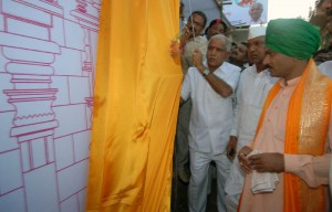 CM B.S.Yeddyurappa inaugurated laxadeepotsava of guru channa basavesha maha shivayogi's 25 th death annuarsary at mutyana babalad of gulbarga taluka today(20-11-2009).  cooperative minister sri laxman s savadi, animal husbandary minister sri revunayak belamagi, dr nanjundappa report implimentation committee president sri shahshil g namoshi and others were participated