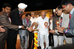 chief minister B S Yeddyurappa inaugurated the 16th all india Homeopathic scientific seminar 2009 in Bangalore on 14.11.2009. Sri Ramachandra Gowda,minister for medical education  were present.