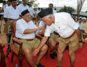 cm at RSS camp