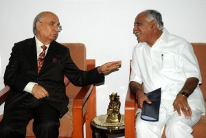 cm met Governor