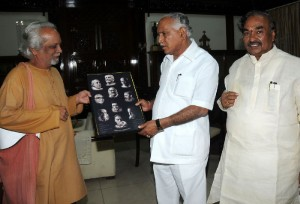 Noted Photographer presented collage of pride of karnataka