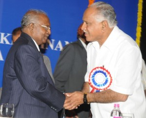 Chief Justice of indioa and chief minister of karnataka at ADR conference