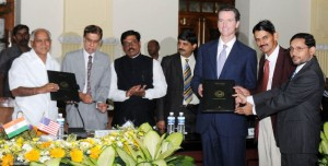 signing of MOU Between Bangalore and Sanfransisco