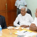 Sri A M Nayak ,chairman and managing director of L & T met cm in Bangalore on 22.01.2010