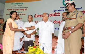 Distribution of Cheque to Meritories Childrens of Police Persenal