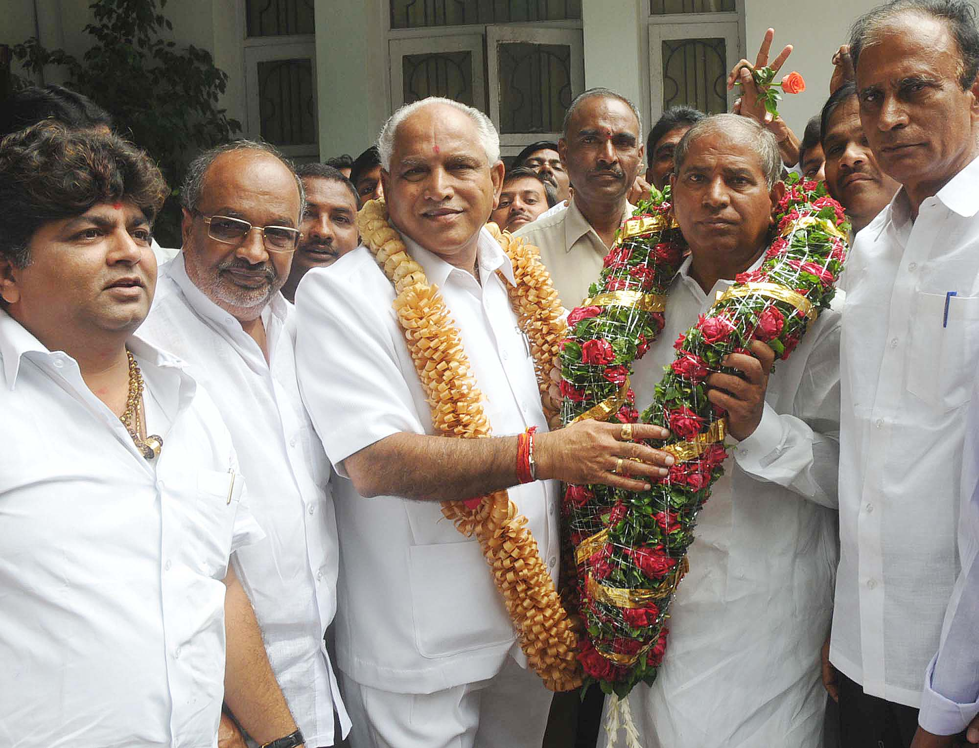 Image result for yeddyurappa with MLA