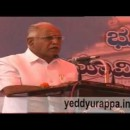 B S Yeddyurappa Foundation stone laid for 'Suvarana Sawdha' at Belagavi