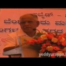 Sri Yeddyurappa at BBMP function