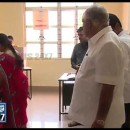 B S Yeddyurappa cast his vote with family