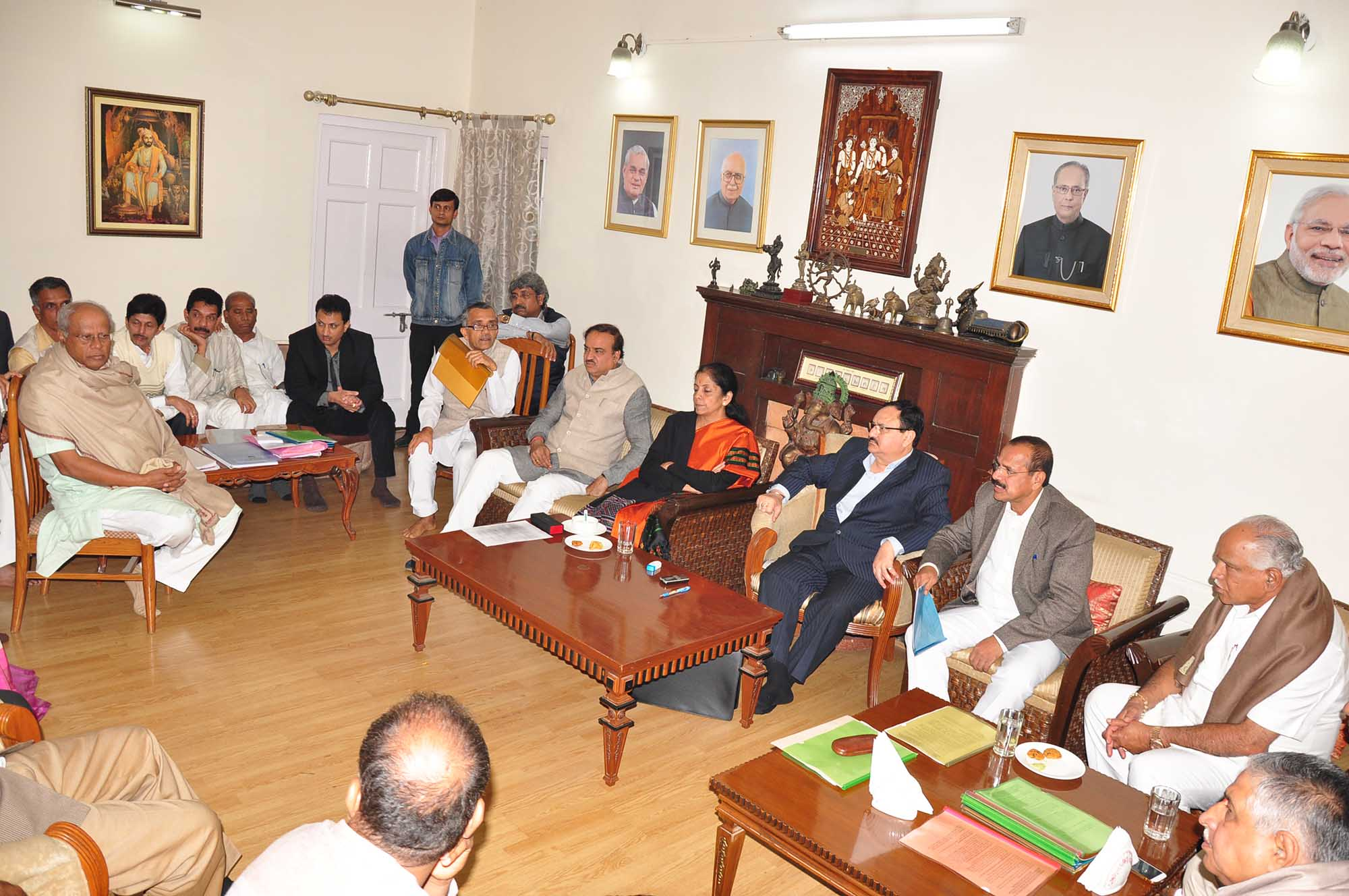 High Level Meeting on Arecanut 16-12-2014 2