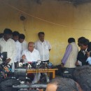 BSY Visited Families of Sugarcane Farmers who Committed Suicide at Pandavapura and Srirangapattana