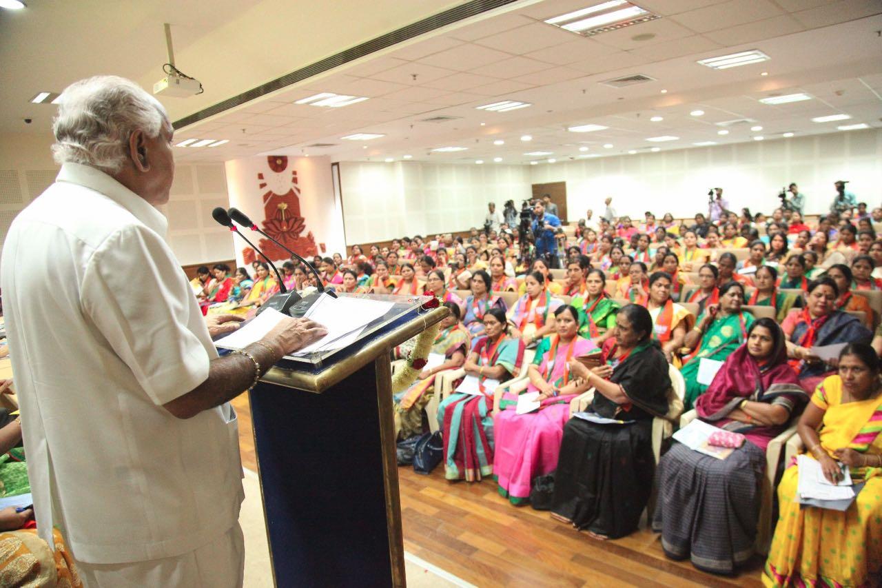 State Executive Committee meeting of the BJP Karnataka Mahila Morcha