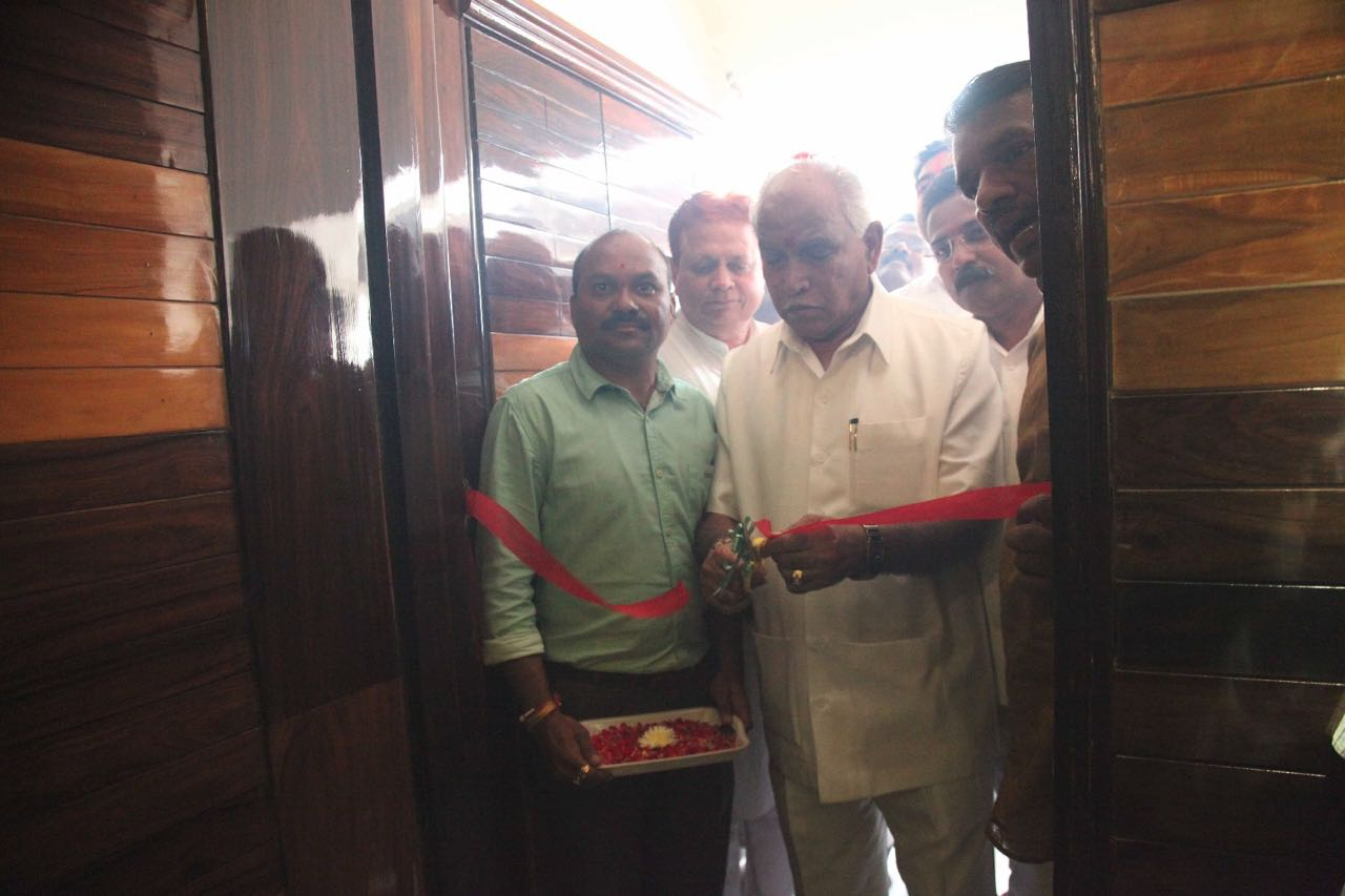 Inaugurated Belagavi's BJP office today 1