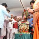 More than one lakh people participated at the BJP ST samavesha at Lingasuguru.