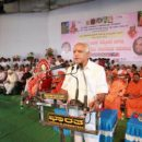 Addressed a large gathering commentating achievements of Mystic Sharane Hemareddy Mallamma at Kudalasangama.