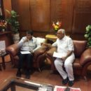 BSY Met Sh. Suresh Prabhu & discussed the need to increase trains frequency between Bengaluru & Shivmogga.