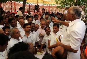 CM Heard Public Grevences