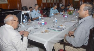 CM in Defence Fund Meeting