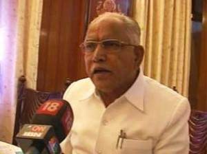 Yeddyurappa holds meetings to tone up administration