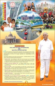 Karnataka on fast track of growth and development
