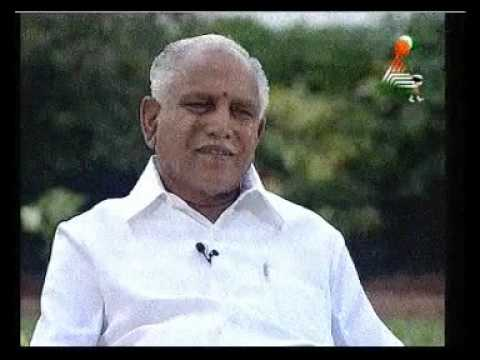 Karnataka CM BS Yeddyurappa interviewed by actress Ramya Part 3
