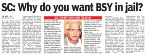 SC: Why do you want BSY in jail?