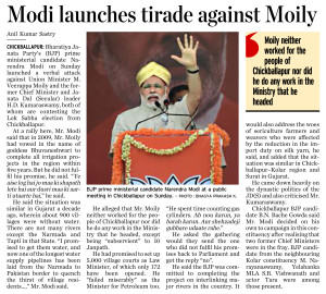 Modi launches tirade against Moily