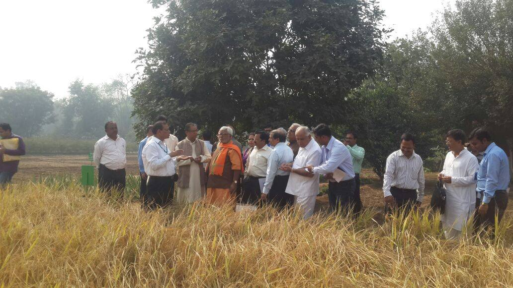 BS Yeddyurappa Visited Delhi's Indian Agriculture Research Institute along other members of Agriculture Committee