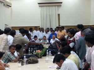Press Meet on State Government's issues at Kalburgi today