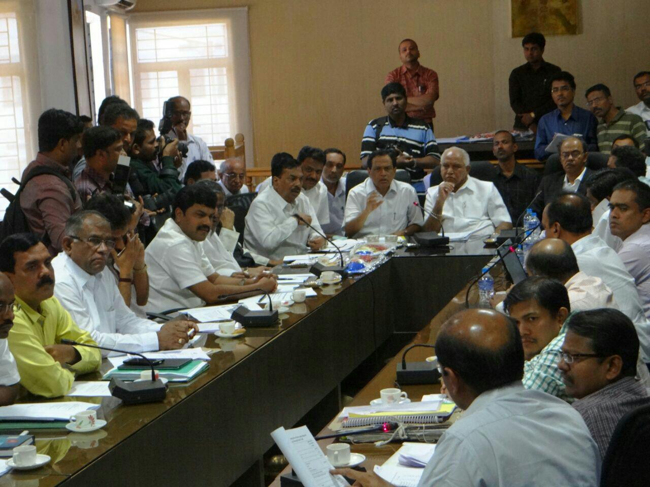 Shivamogga City's Railway Dept needs are being Discussed with Officers