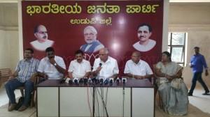 Press conference at Udupi