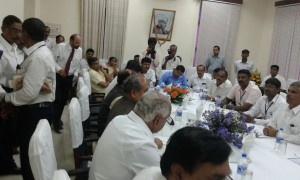 BSY Interactions with VSIL's Authorities in Presence of Hon'ble Union Minister Tomarji