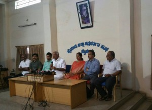 BSY in Press Meeting at Mysuru
