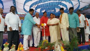 BSY Welcoming all the Leaders who Joined BJP from JDS and Congress at Yalahanka.