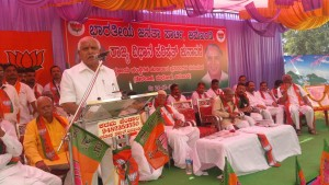 Campaigning at Bagalkot for MLC election