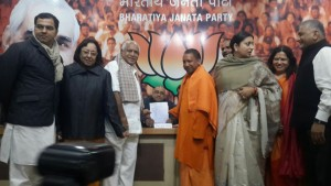 BSY proposed Sri Amit Shah's nomination for National President post to election committee at Delhi