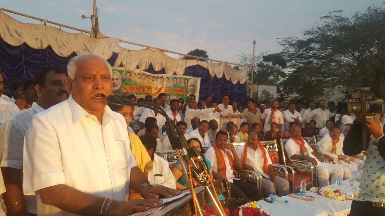 Campaigned for local body elections at Mandya & Mysuru District